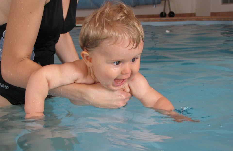 Natação para bebês Aquafisio